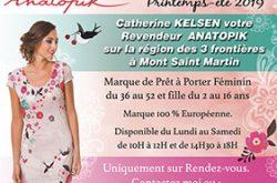 ANATOPIK PRET A PORTER FEMININ DU 36 AU 52